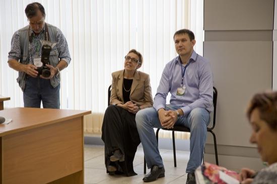 Фото с презентации журнала КАЛИТКА