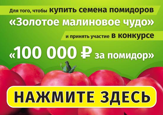 Заказать помидоры Золотое Малиновое Чудо в Интернет-магазине